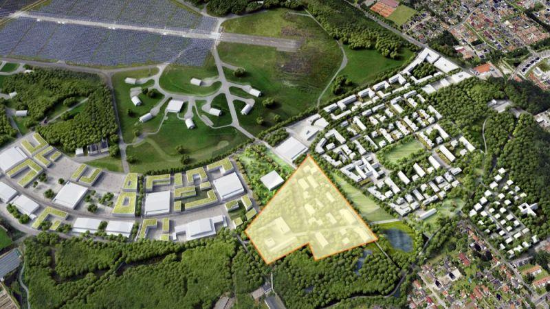 Auf einer Teilfläche des ehemaligen Fliegerhorsts in Oldenburg entsteht ein neues Wohnquartier. Es soll ein sogenanntes Reallabor für Smart-City-Technologien sein.