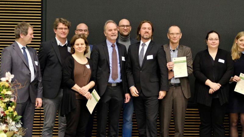 Preisverleihung des Ideenwettbewerbs EnEff.Gebäude.2050 im Bundeswirtschaftsministerium in Berlin