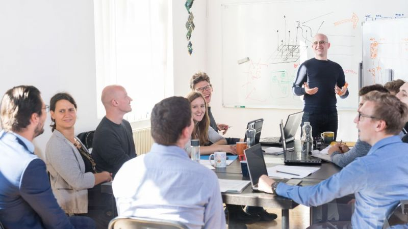 Kick-off Meeeting der AG-Startup