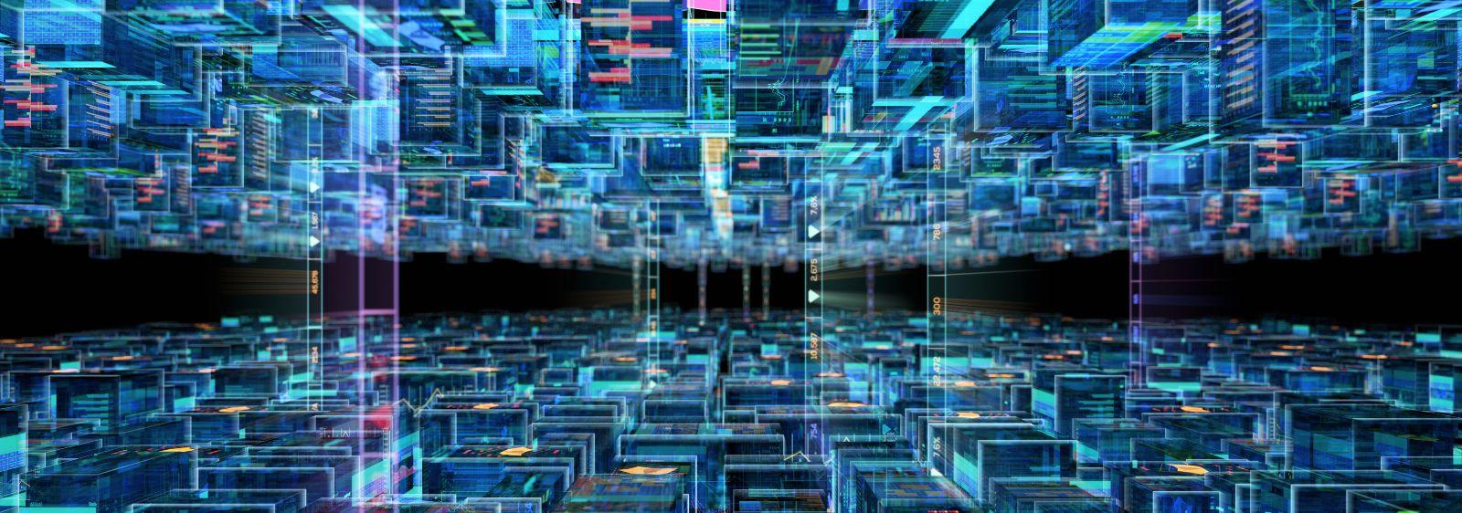 graphische Darstellung des Inneren einer Datenbank