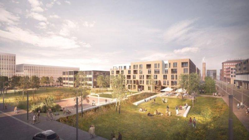 Ein Beispiel für ein Plusenergie-Quartier.