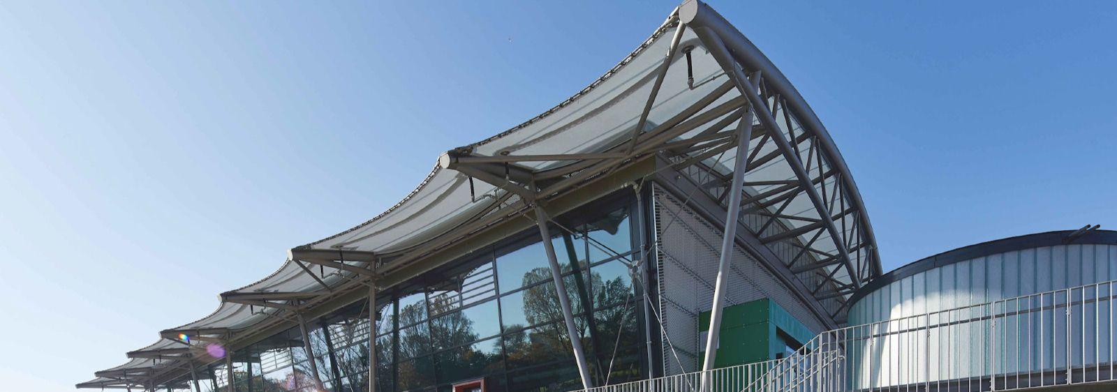 Julius Hirsch Sportzentrum Fürth, Außenansicht