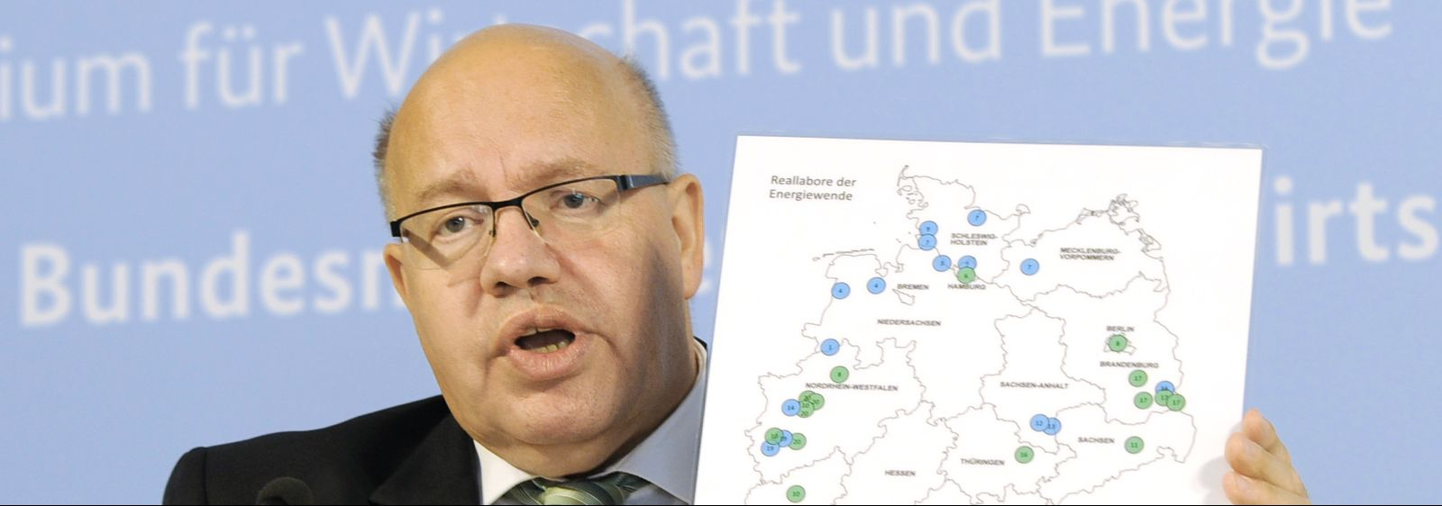 Bundeswirtschaftsminister Peter Altmaier präsentiert in der heutigen Pressekonferenz die Gewinner des Ideenwettbewerbs