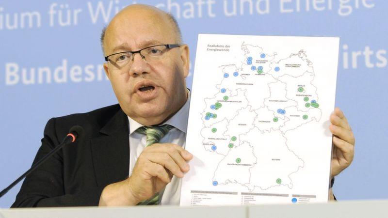 Pressekonferenz zum Thema Reallabore der Energiewende