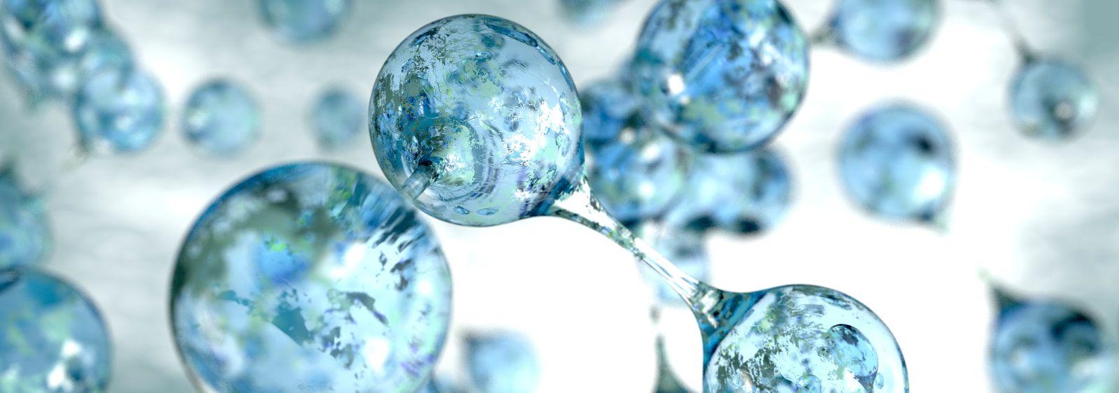Wasserstoffmoleküle