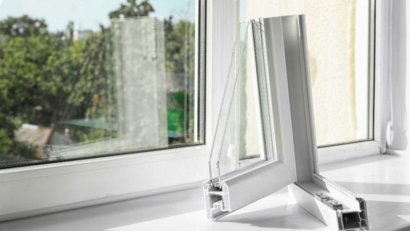 Beispiel für einen Fensterquerschnitt.