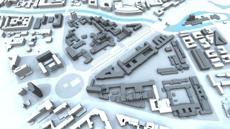 Übersicht des Campus Berlin-Charlottenburg