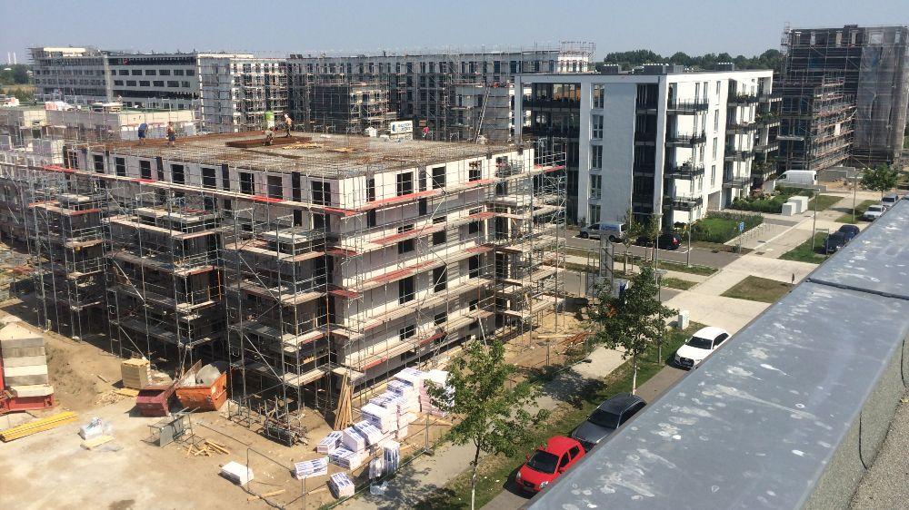 Überblick über das Neubaugebiet