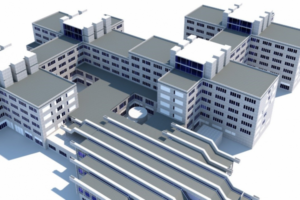 Building Information Modelling (BIM) am Beispiel der Fakultät Chemie.