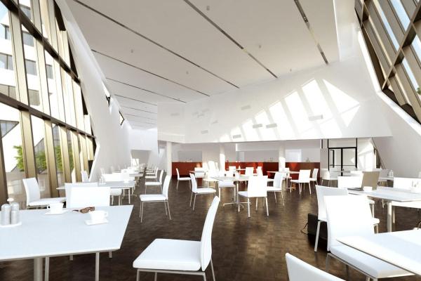 Cafeteria: Visualisierung von innen