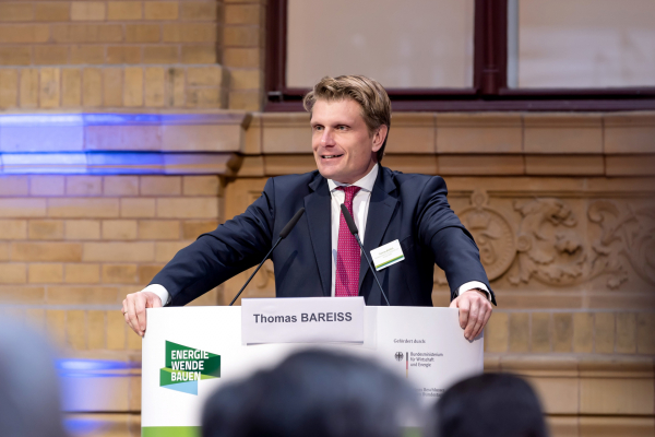 Den zweiten Veranstaltungstag eröffnete der Parlamentarische Staatssekretär im Bundeswirtschaftsministerium Thomas Bareiß.