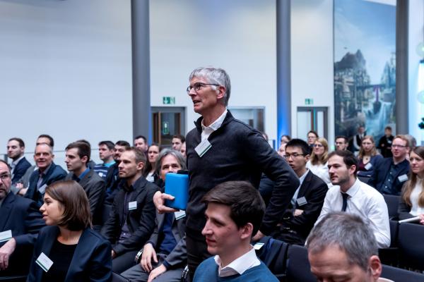 Das Publikum beteiligte sich an den zahlreichen Fachdiskussionen.